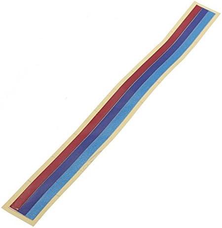 SODIAL Calcomania pegatina de tira del vinilo de parrilla de 3 colores para BMW M3 M5 E36 E46 E60 E90 E92
