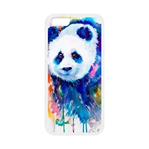 "Custom Colorful Case for Iphone6 Plus 5.5"", Panda Cover Case - HL-R655419"