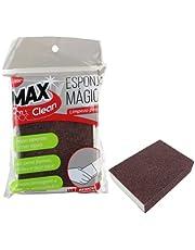 Kit 5 Esponjas Mágicas Para Limpeza Pesada Manchas Panelas