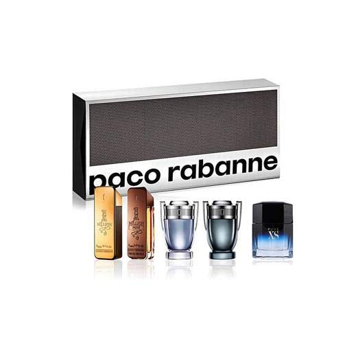 - Paco Rabanne Special Travel Edition Gift Set 5 Pieces Mini for Men