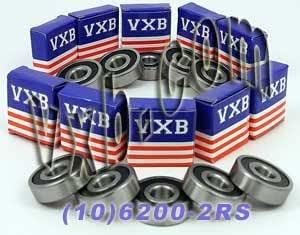 10x30x9 SKF 6200 open bearing-neuf
