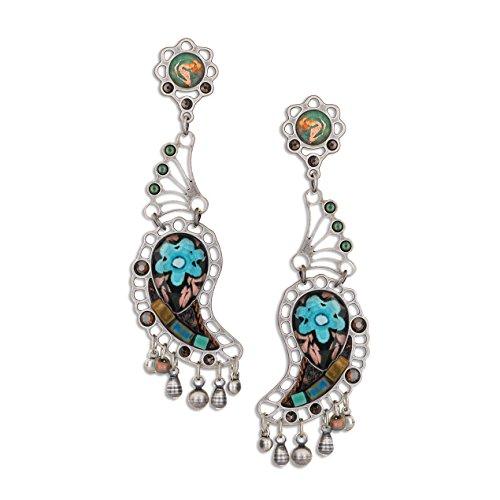 Ayala Earring Post (Artazia's Rain Forest Fashion Earrings, Fall-Winter Collection - E6204)