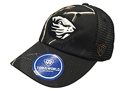Top of the World Oregon State Beavers TOW Black Realtree Camo Harbor Mesh Adjustable Snap Hat Cap from Top of the World
