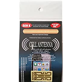 GENX Generation X Plus Smartphone Antenna 1 <p>As Seen On TV, sealed, shrink wrapped, large number available, new and improved generation 2 cell antenna booster, reduces static, improves signal strength and tunnels, buildings, extends cell range while using cell in elevators and remote areas! it should increase at least one bar of signal strength in your cell, easy to install, it's like having a 12 foot antenna on your cell! retails $19.95, get it here fast shipping and discount! New and Improved Design Works with most cell phones, walkit talkie, pagers, and cordless phones too. Improves signal strength. Reduces static Generation X Plus Smartphone Antenna</p>