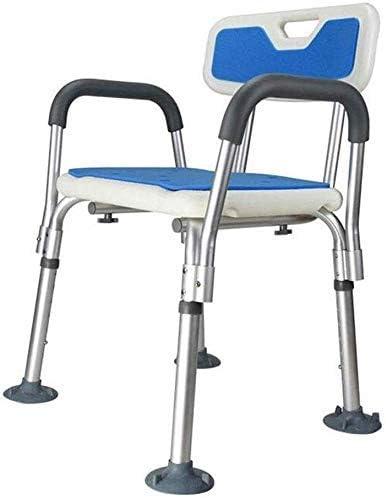 No logo TIN-YAEN Badezimmer Rollstühle, Duschsitz höhenverstellbar Schwangere Frauen Behinderte Antiblockier-Wannen-Hocker...