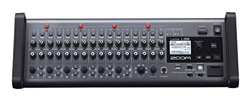 Zoom – L-20R/IFS – mixer digitale 20 canali, recorder e interfaccia audio – formato rack