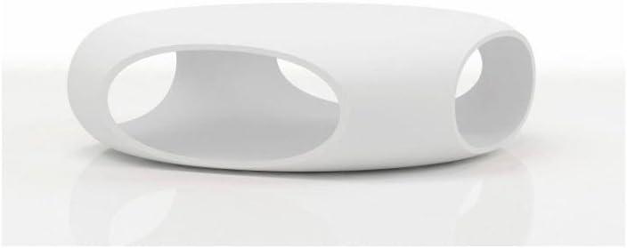 BONALDO tavolino Pebble Bianco con Contenitore da Salotto Design Esterno TD23