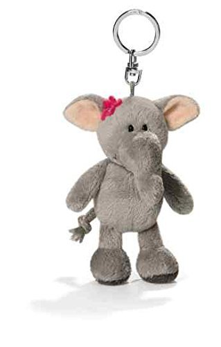 NICI Elephant Lady 10cm Beanbag Keyring by Nici