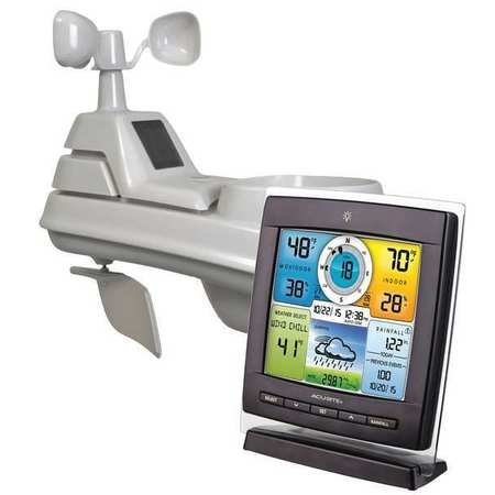 Chaney Instrument Pro 5-in-1 Color Weather Station with Wind and Rain 01528