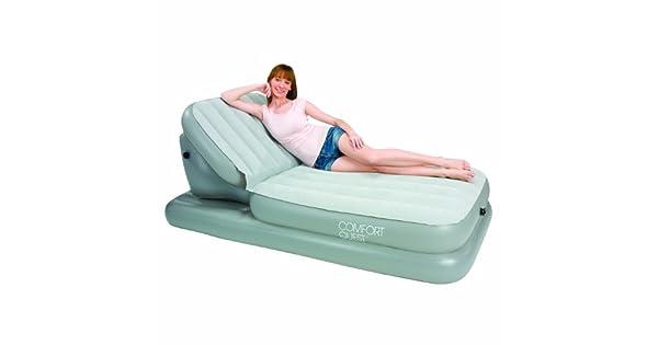 Amazon.com: Bestway Airbed con respaldo ajustable, 78 x 33 ...
