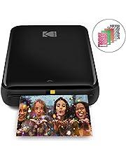 "$69 » Zink Kodak Step Printer   Wireless Mobile Photo Printer Zero Ink Technology & Kodak App for iOS & Android   Prints 2""x3"" Sticky-Back Photos from Any Bluetooth or NFC Smart Device   Black"