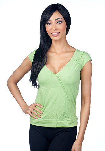hering-junior-womens-deep-plunge-top-02tj-green-m