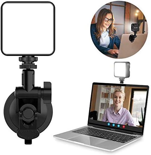 VIJIM Videoconferentieverlichting tweekleurige set voor op afstand MacBook videoconferentieverlichting laptoplamp voor videoconferenties zoomoproepen zelfoverdracht live streaming