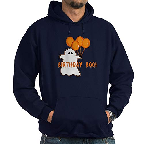 CafePress Halloween Birthday Boo Pullover Hoodie, Classic & Comfortable Hooded Sweatshirt -
