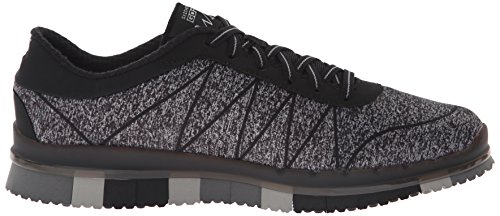 Go Ability Baskets Gris Skechers Noir Basses Noir Femme Flex HgqawdO