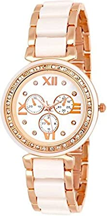 67eb8fe7ea63 Buy NEO VICTORY Luxury Analogue White Dial Women s and Girls Watches ...