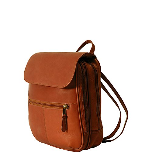 (Clava Flap Organizer Backpack (Vachetta Tan))