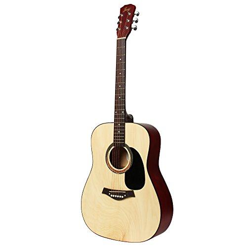 JOY201 41 inch Full Size Beginner Acoustic Guitar in Matte N