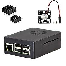 3 in 1 Double Cool Kit for Raspberry Pi 3 Case with Fan Heatsink
