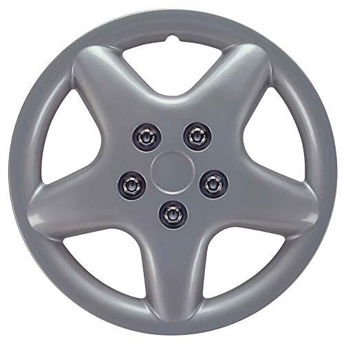Autostyle Set Wheel Covers Idaho 14-inch Silver