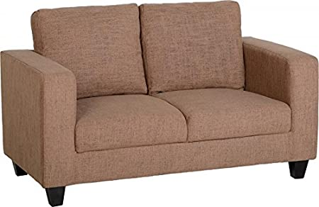 Seconique Tempo Sofa   Two Seater Sofa In A Box   Fabric Or Faux Leather