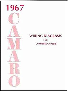 camaro factory assembly manual reprint including rs ss z 1967 camaro complete set of factory electrical wiring diagrams schematics guide 8 pages
