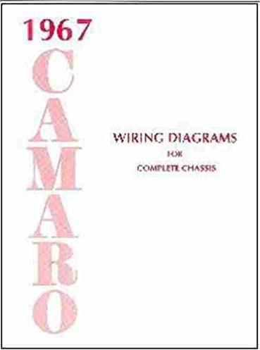 1967 camaro complete set of factory electrical wiring diagrams wiring diagram for mustang 1967 camaro complete set of factory electrical wiring diagrams & schematics guide 8 pages 67 chevy chevrolet camaro chevy chevrolet gm, gm camaro chevy