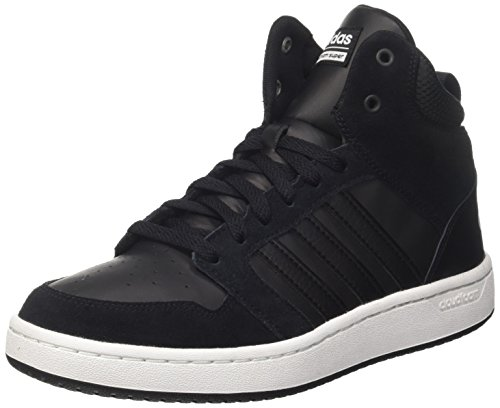CF Mid Hoops Hombre Crystal Negro Super Core White para Altas Black adidas Zapatillas ft0dt