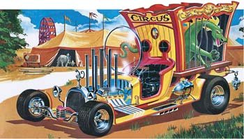 アメリカレベル 1/24 サーカス ワゴン 04263 プラモデルの商品画像