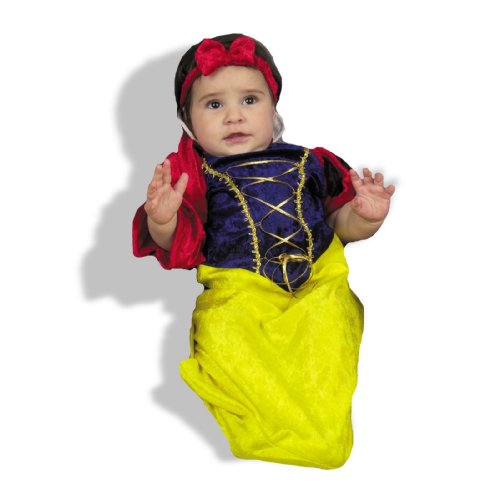Charades Bunting Costume - Snow White-0-6 months (Snow White Costume For Infant)