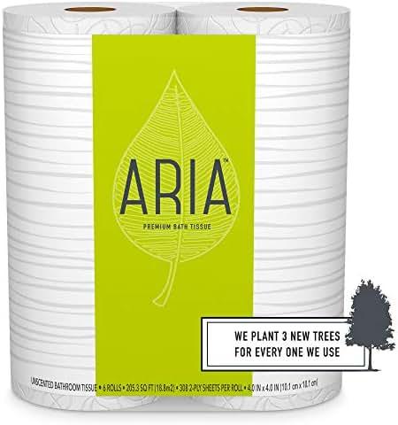 Toilet Paper: Aria Premium Bath Tissue