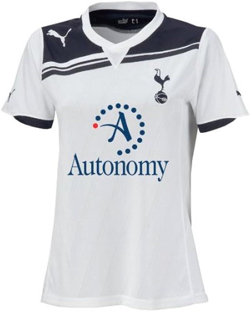 Tottenham Hotspur Womens Home Soccer Shirt 2010-11: Amazon.es ...