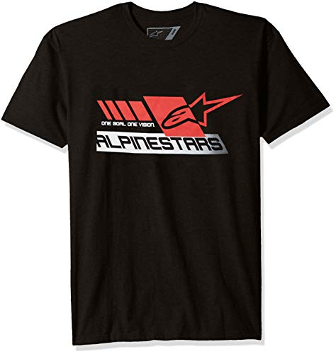 D'inspiration Manches Moderne shirt Graphique Street Alpinestars Coupe Tee Motor T Courtes Homme Black Sport Heritage IWUznWgCqw