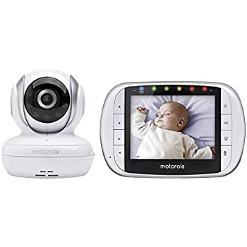 "Amazon.com : Motorola MBP33XL 3.5"" Video Baby Monitor with"