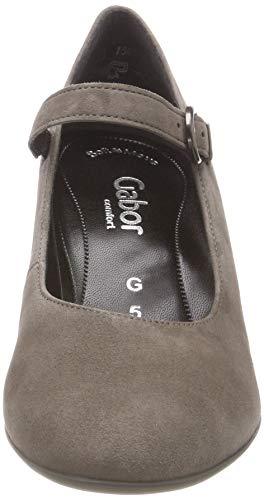 Scarpe Fashion Tacco Comfort Con Donna Gabor Marrone 41 kaschmir q7wHEIx5I