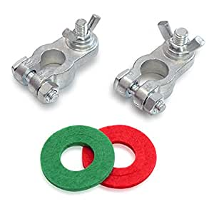Amazon Com Handster Marine Battery Terminal Wing Nuts