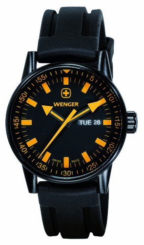 WENGER - Men's Watches - Commando Day Date BLACK LINE - Ref. 70173