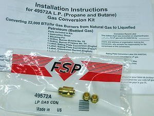 Propane Gas Conversion Kit - 3