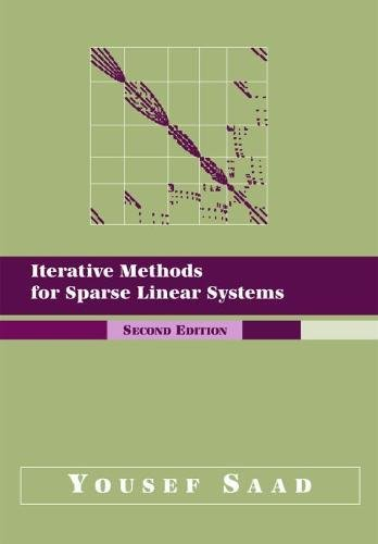 Iterative Methods for Sparse Linear Systems