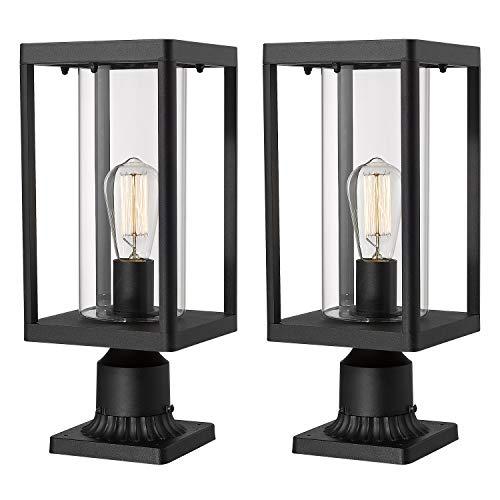 Led 3 Light Outdoor Post Lantern in US - 2