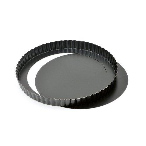 Kaiser Quicheform mit Hebeboden Ø 24 cm Delicious gute Antihaftbeschichtung herausdrückbarer Hebeboden gleichmäßige Bräunung durch optimale Wärmeleitung