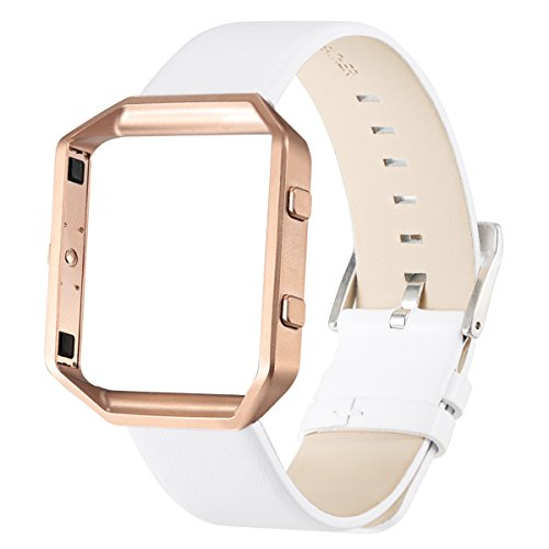 Fitbit bayite Accessory Leather Wristband product image
