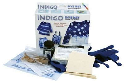 3938bc75c Amazon.com: Indigo Dye Kit- Natural Indigo Clothing Dye Method