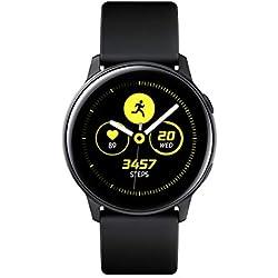 """Samsung Galaxy Watch Active – Smartwatch (1,1"""",40mm, Tizen, 768 MB de RAM, Memoria Interna de 4 GB), Color negro – Versión Española"""