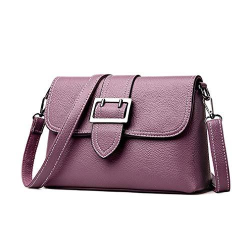 Blue 25cm9cm17cm en Sacs à bandoulière Sacs PU Purple Cuir Main Femmes à pour SCaTx