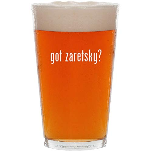Used, got zaretsky? - 16oz Pint Beer Glass for sale  Delivered anywhere in USA