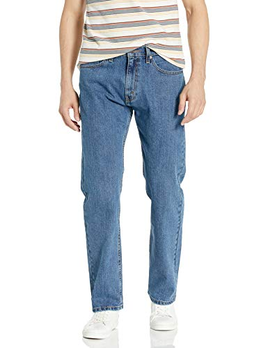 Signature by Levi Strauss & Co Men's Regular Jean, Medium Indigo, 32x34