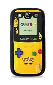 Pikachu Gameboy Samsung Galaxy S3 silicone Case - Black 556