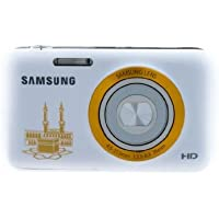 Samsung ES99 Mecca Edition 16.1MP HD Digital Camera with 5X Optical Zoom (White) International Model No Warranty