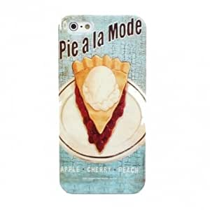 Cake Pattern Simple Thin Plastic Case Cover For iPhone 5 5S
